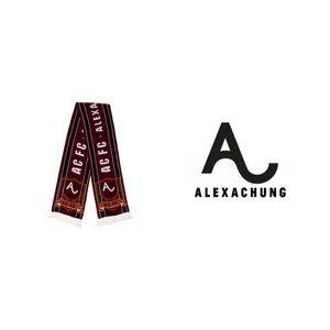 Alexa Chung AC FC scarf
